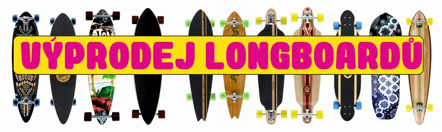 Velký výprodej longboardů