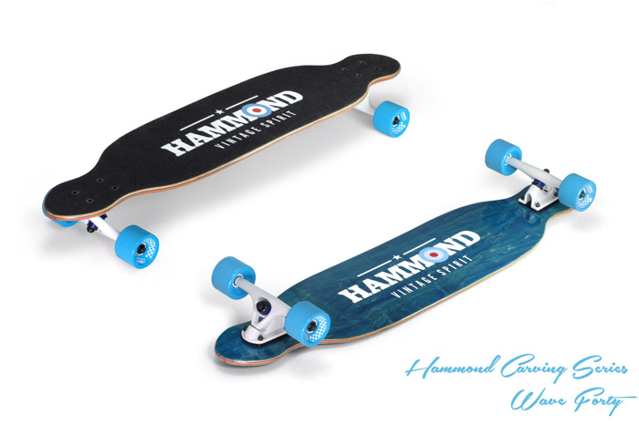 Hammond Longboards - Twin Tip 43 longboard
