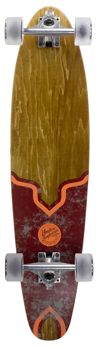 Mindless - Raider V5 Red - longboard