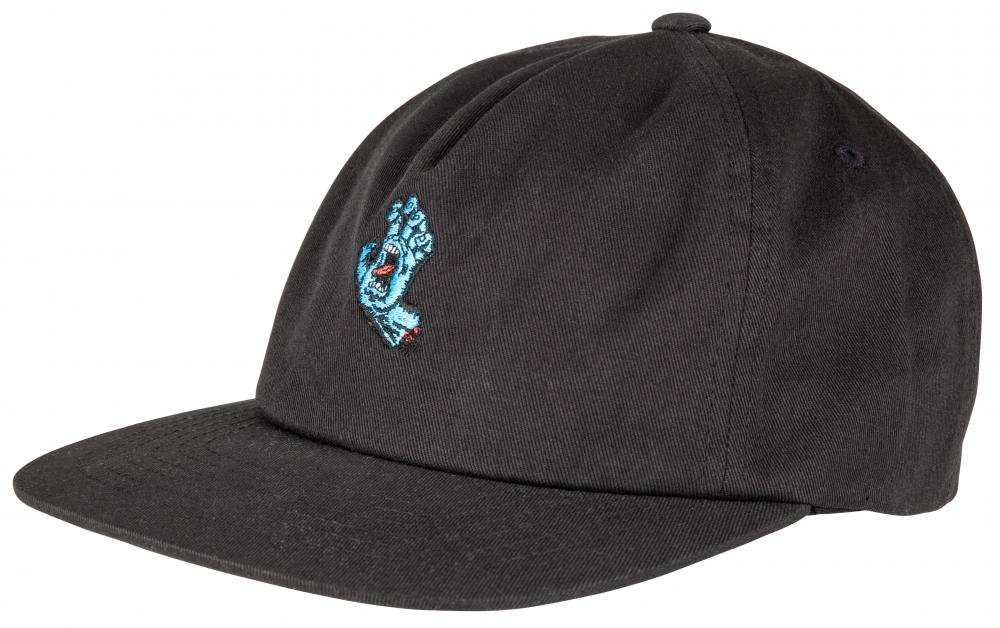 Santa Cruz - Screaming Mini Hand - Black - Pánská čepice