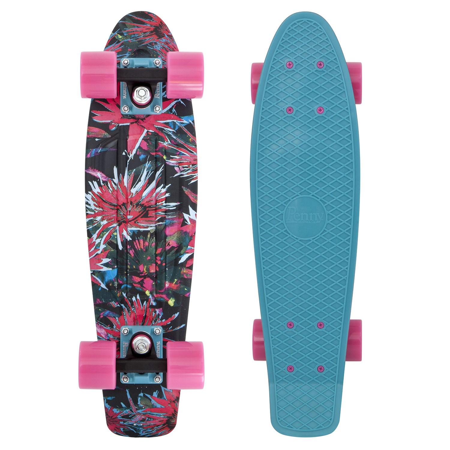 Penny Australia original Graphics 22 bloom - pennyboard