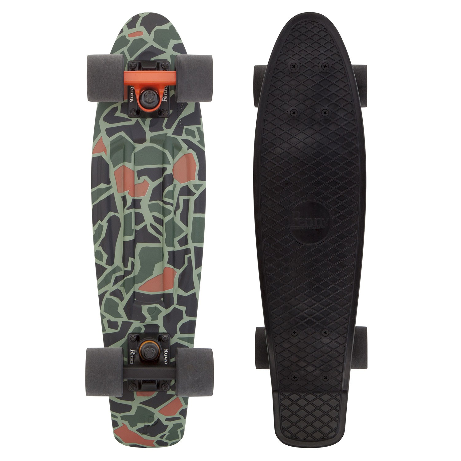 Penny Australia original Graphics 22 Not so camo - pennyboard
