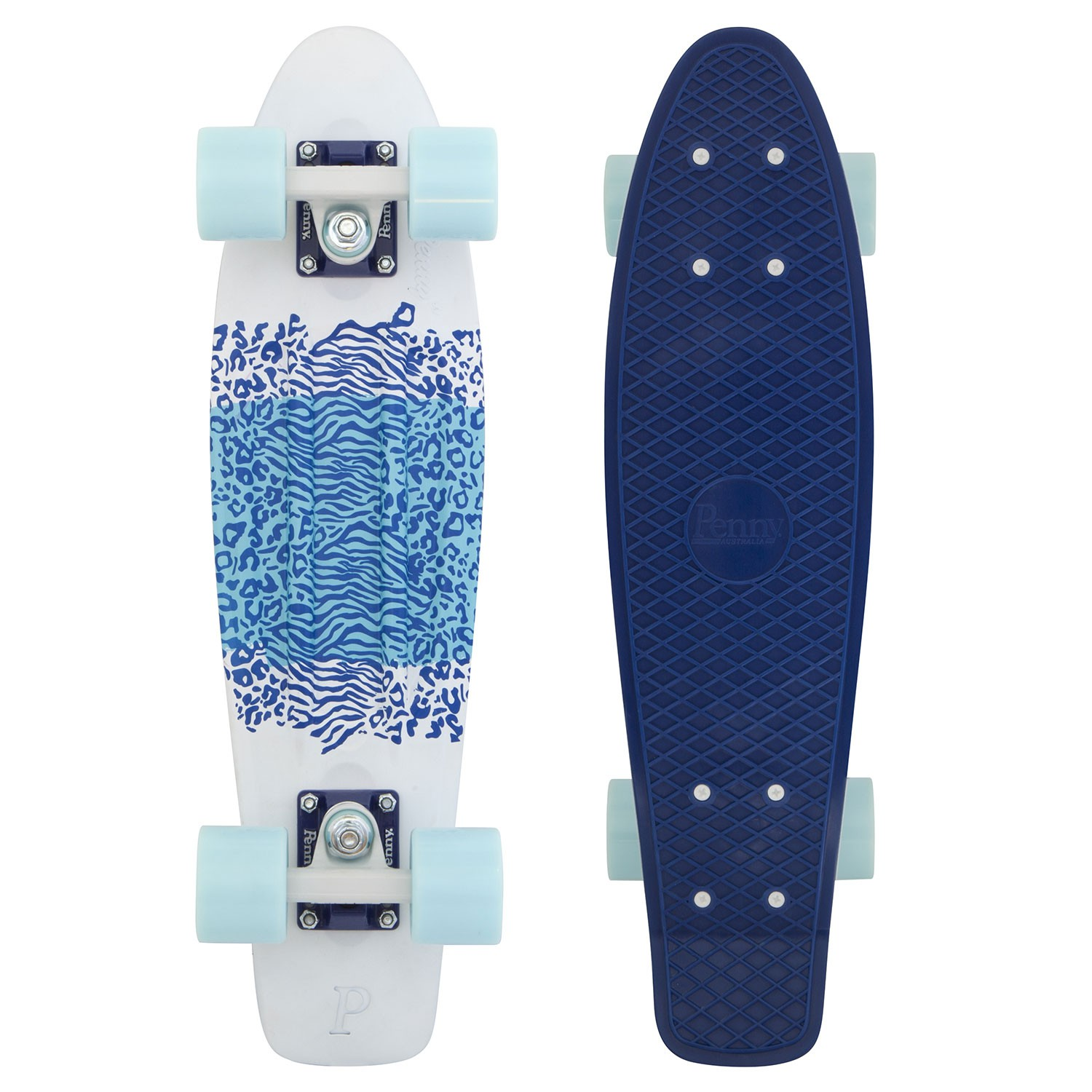 Penny Australia original Graphics 22 Safari road - pennyboard