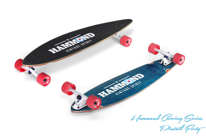 Hammond Longboards - Pintail 40 longboard