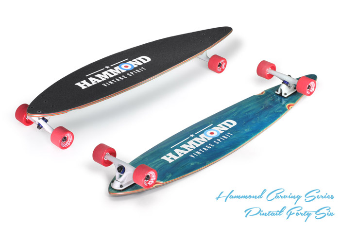 Hammond Longboards - Pintail 46 longboard