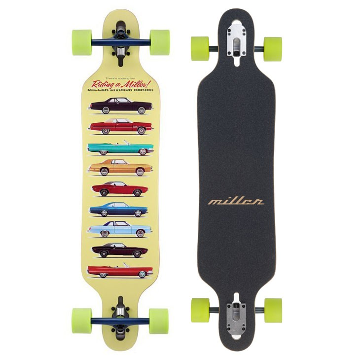 "Miller Collection 38""- longboard"