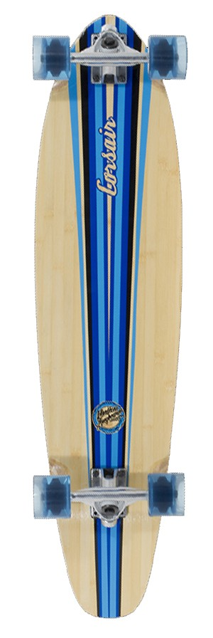 "Mindless - Corsair 38"" V3 Blue longboard"