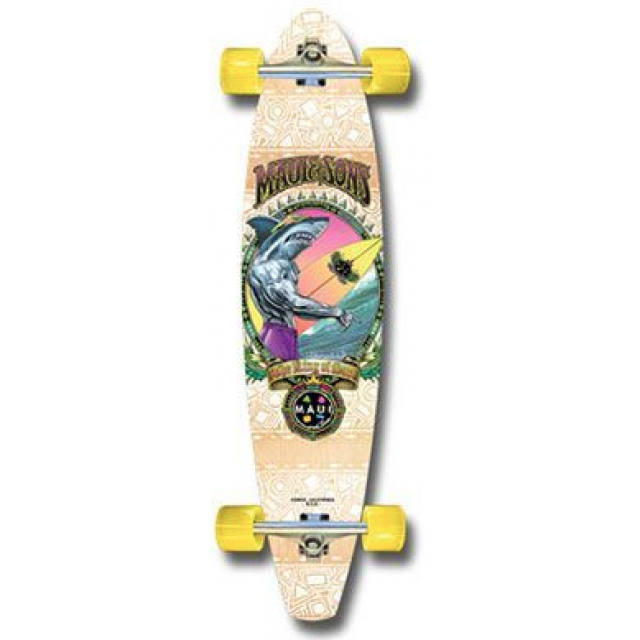 Maui King Shark Kicktail - longboard