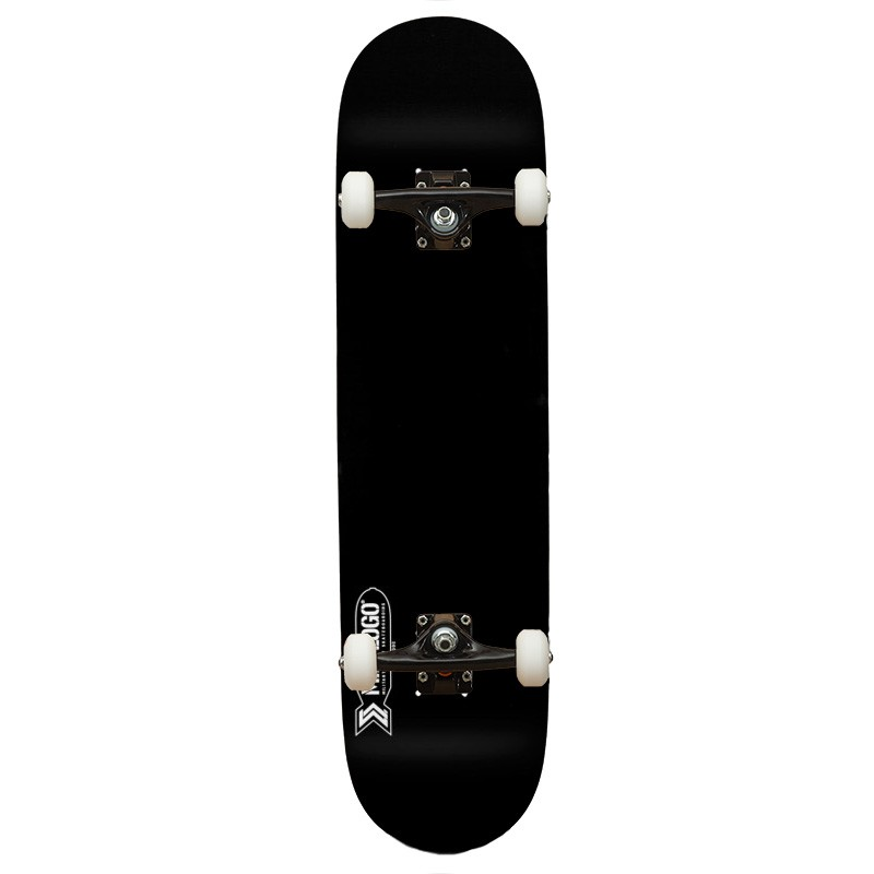 Mini Logo Small Bomb Black  Ambassadors 8.25 - skateboard