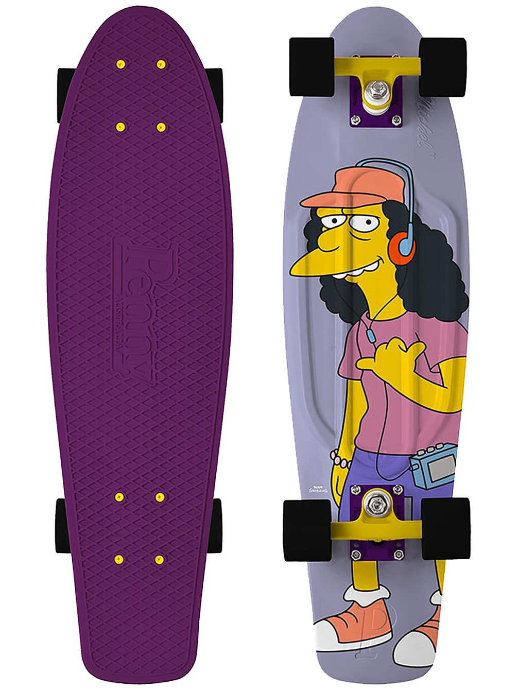Penny - Simpsons Nickel 27 - rock on little dudes! - penny boards