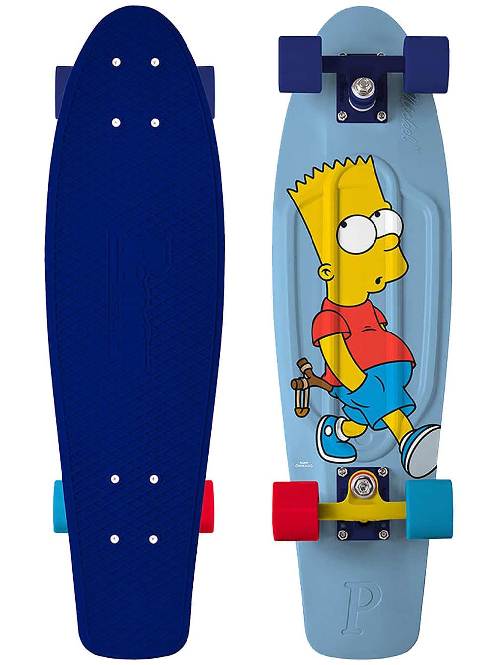 Penny - Simpsons Nickel 27 - Bart - penny boards