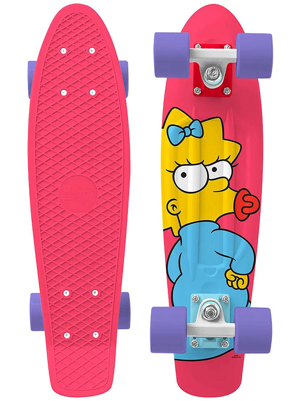 Penny - Simpsons Nickel 22 - Maggie - penny boards