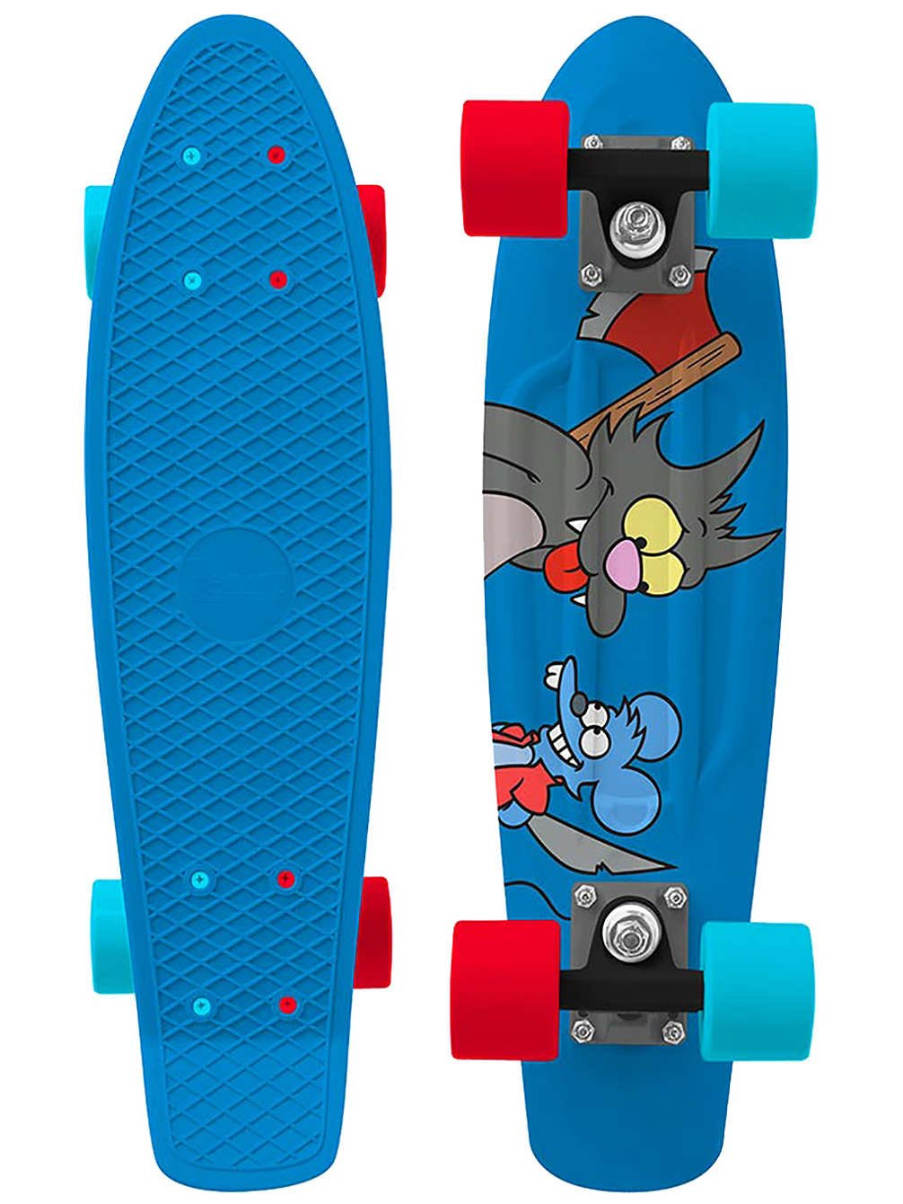 Penny - Simpsons Nickel 22 - Itchy & Scratchy - penny boards
