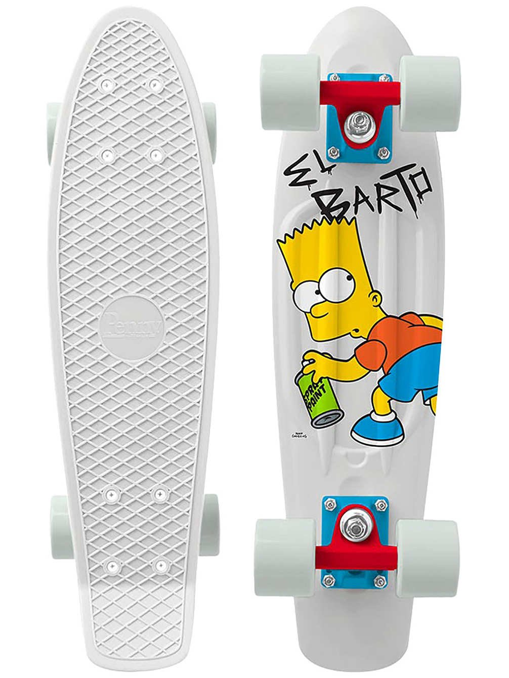 Penny - Simpsons Nickel 22 - El Barto - penny boards