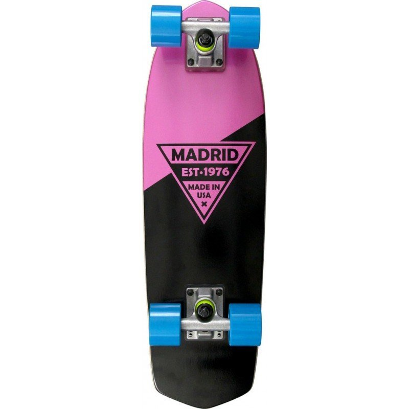 "Madrid Party 24"" Pink Metallic Logo - longboard"