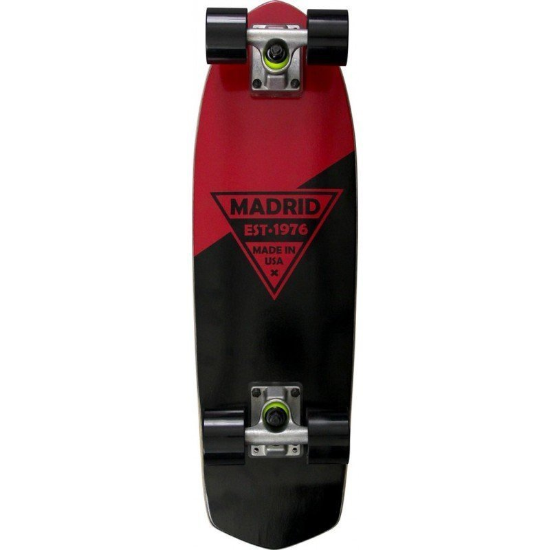 "Madrid Party 24"" Red Metallic Logo - longboard"
