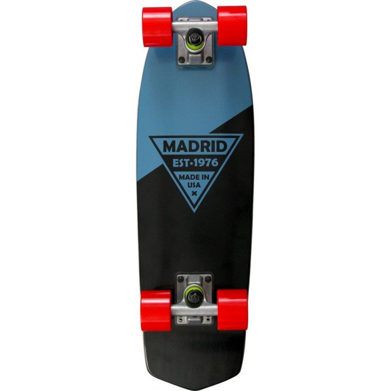 "Madrid Party 24"" Blue Metallic Logo - longboard"