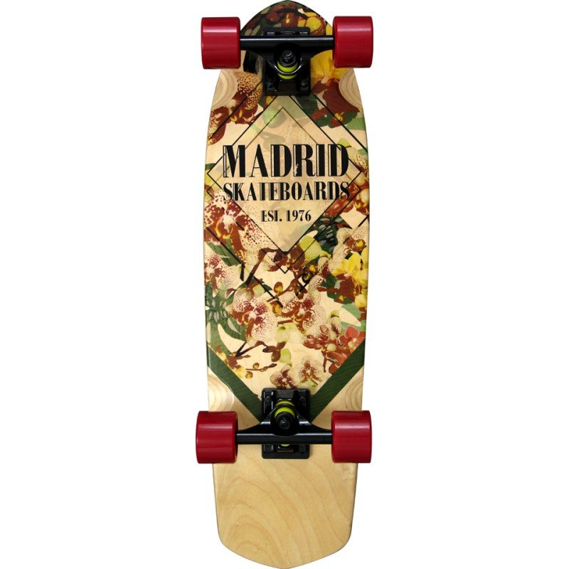 "Madrid Picket Orchid Mini 28"" - longboard"