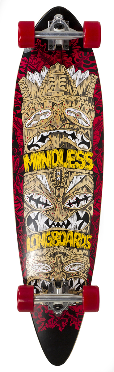 Mindless Tribal Rogue IV - red - longboard