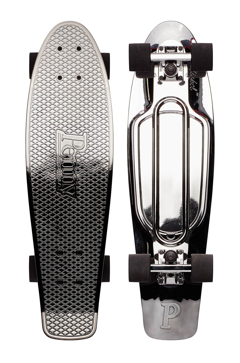 Penny - Metalic Nickel 27 - Gunmetal Black - penny boards