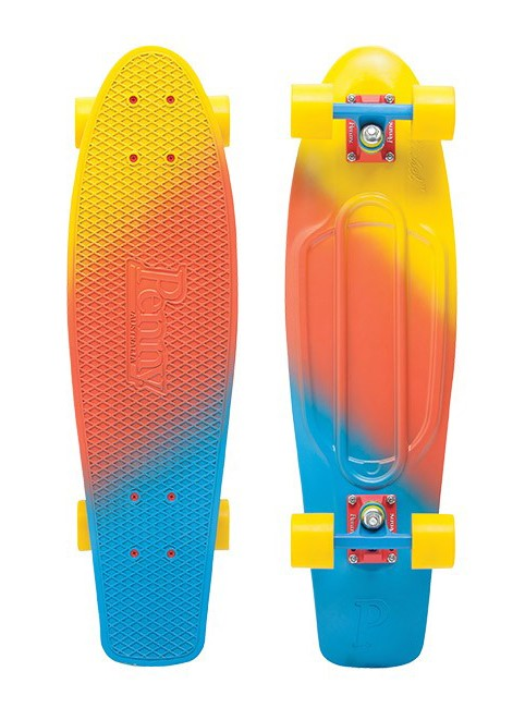Penny - Fades Nickel 27 - Canary - penny boards
