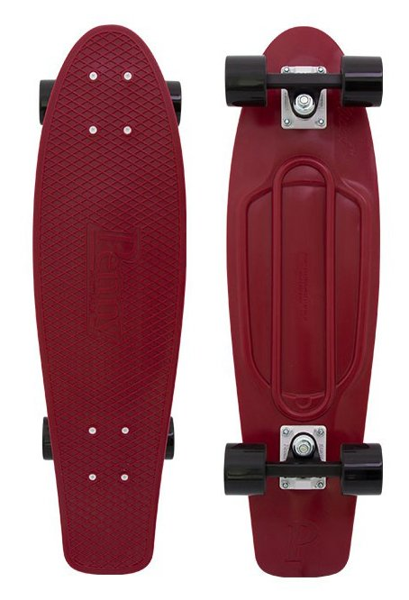 Penny - Nickel 27 - Burgundy- penny boards