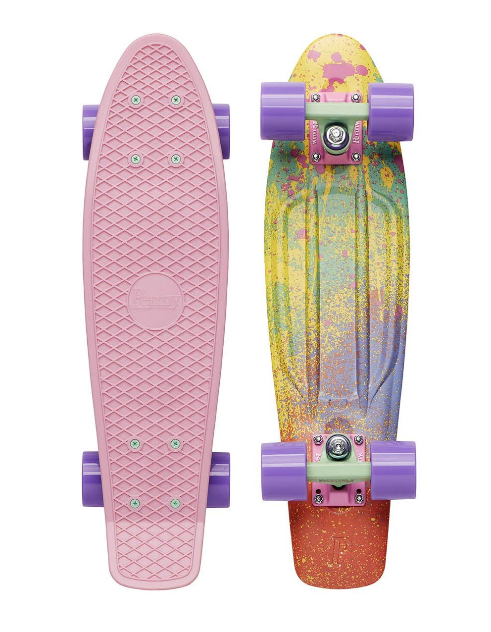Penny - Graphic 22 - Color Splash - penny boards
