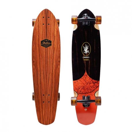 Arbor Mission Groundswell Series 'Map' 35 - longboard