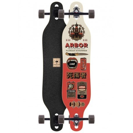 "Arbor Axis Artist Collection 'Florian Schommer' 40"" - longboard"