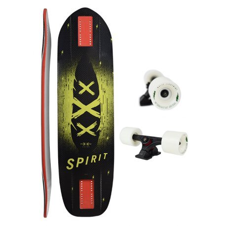 Moonshine Spirit Carbon Black/Yellow/Red - Complete