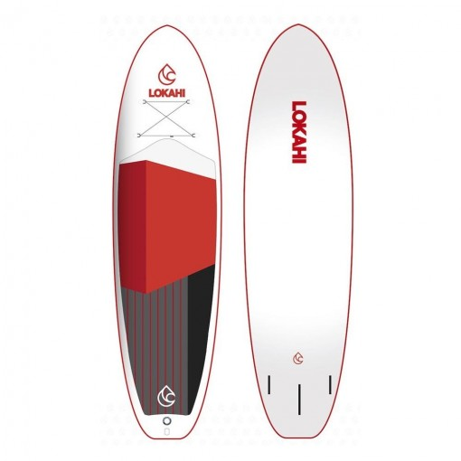 PADDLEBOARD LOKAHI W.E. ENJOY RED 10,6-33 - paddleboard