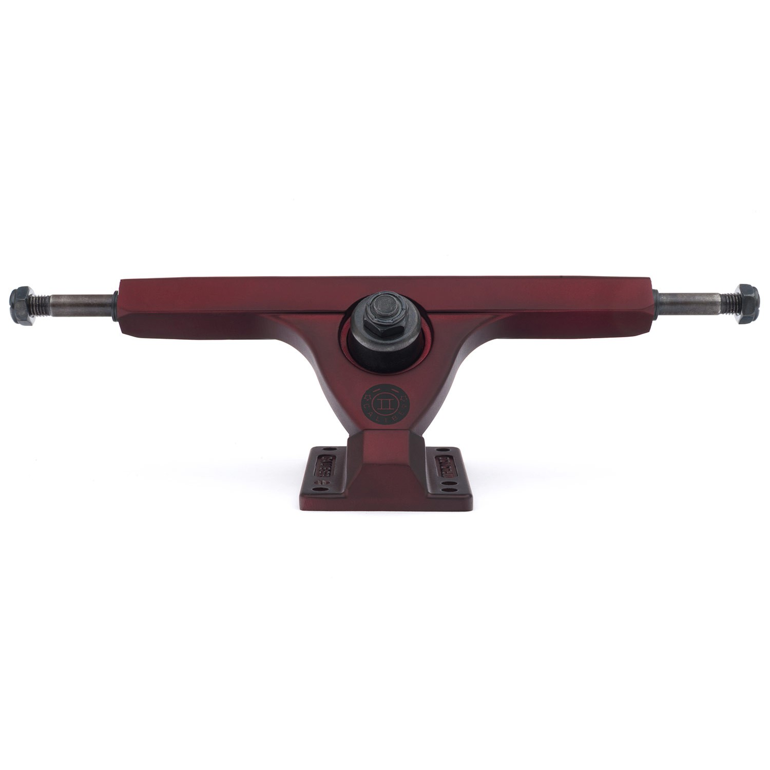 Longboard truck Caliber Caliber II 184mm 50° - midnight satin red - longboard treky