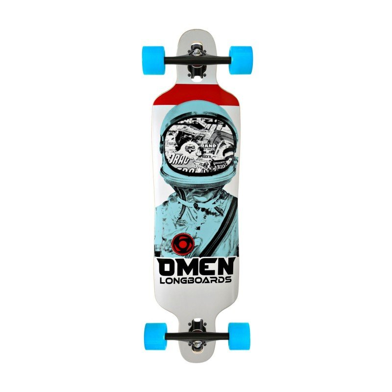 "Omen Drop Through 38"" Astronaut - Complete - longboard"