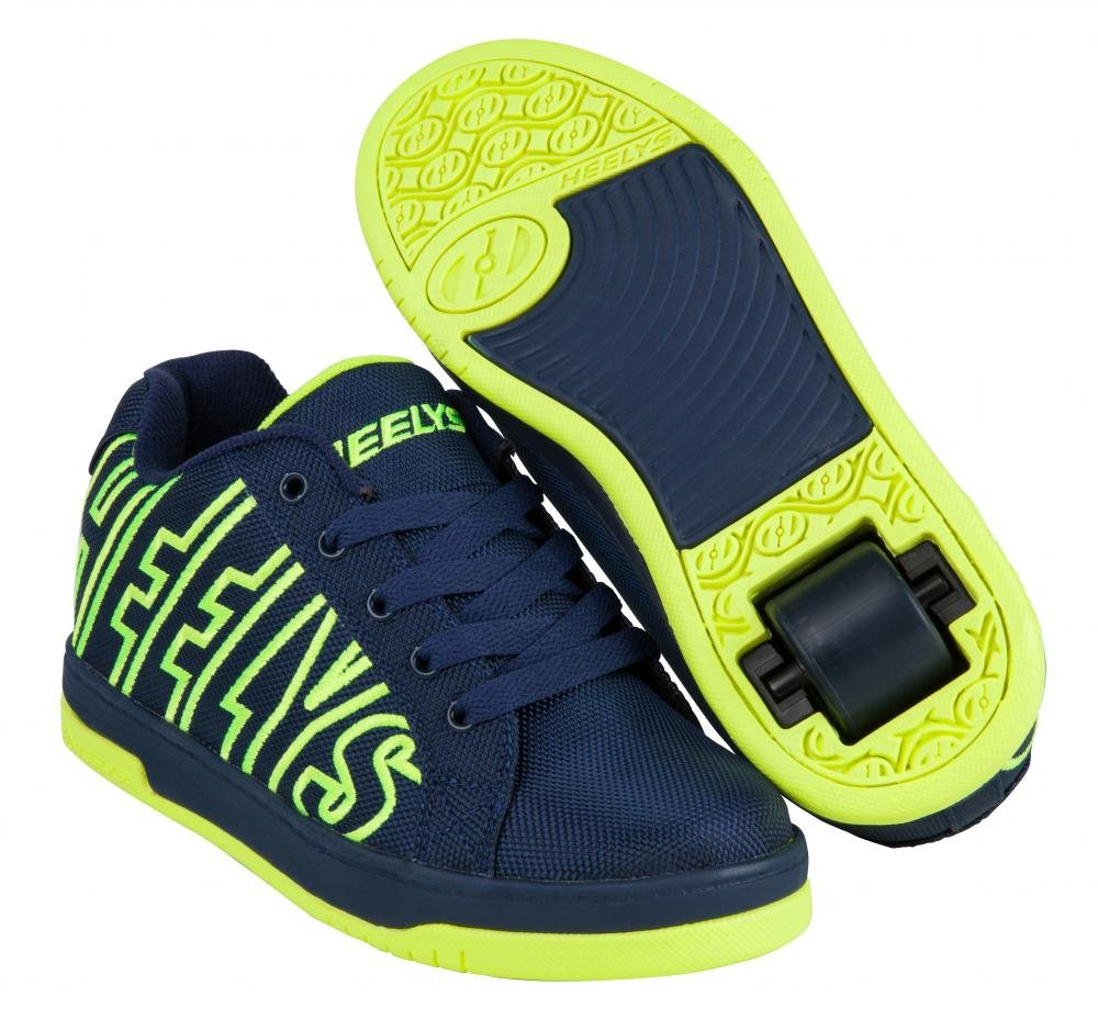 Heelys - Split Navy/Bright Yellow - koloboty