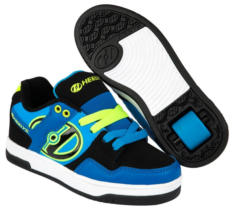 Heelys - Flow Royal/Black/Lime - koloboty