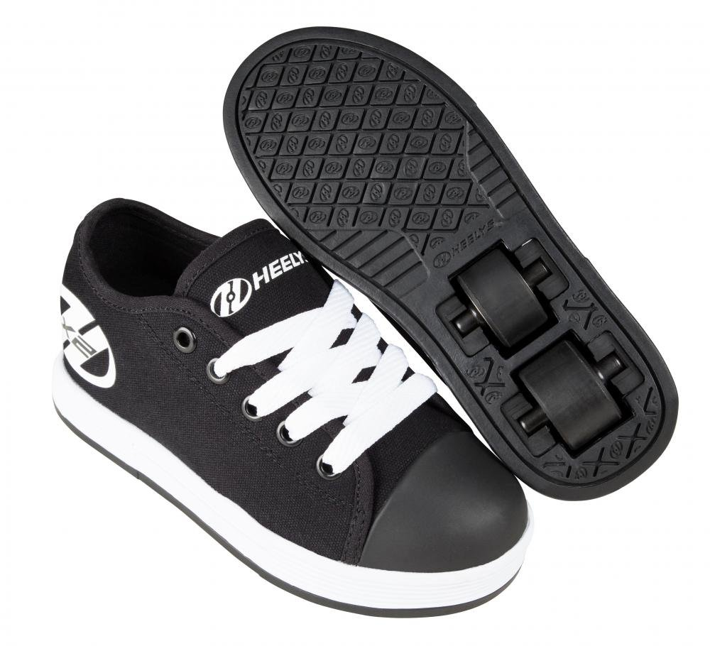 Heelys - X2 Fresh Black/White - koloboty