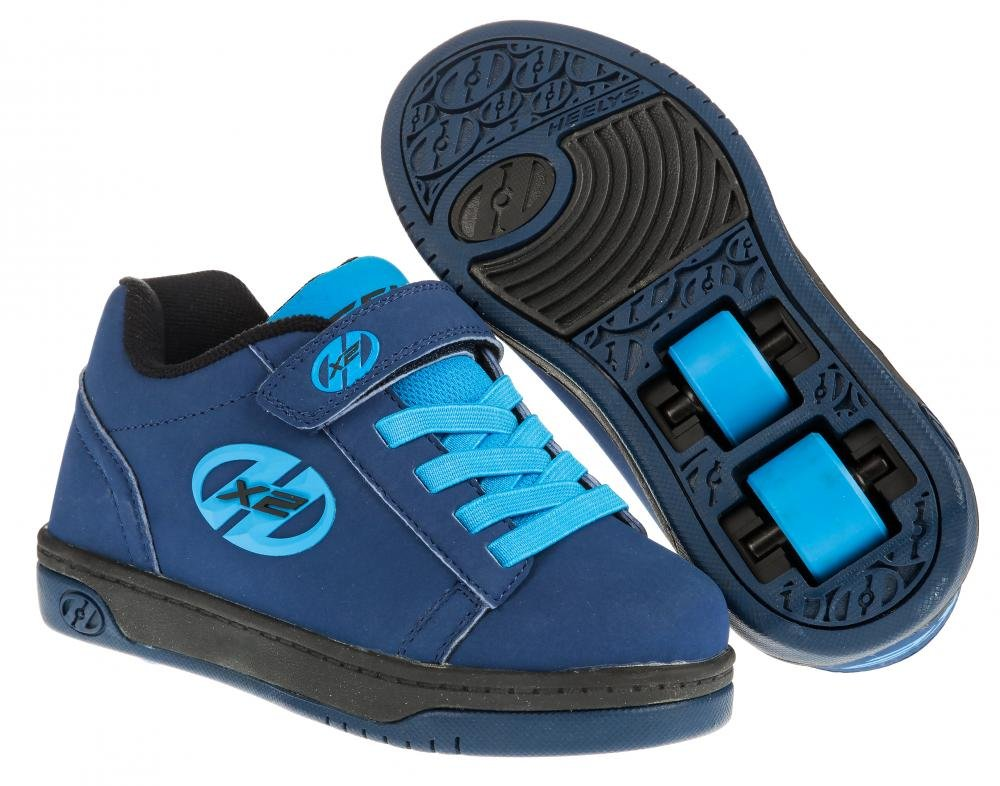 Heelys - X2 Dual Up Navy/New Blue - koloboty