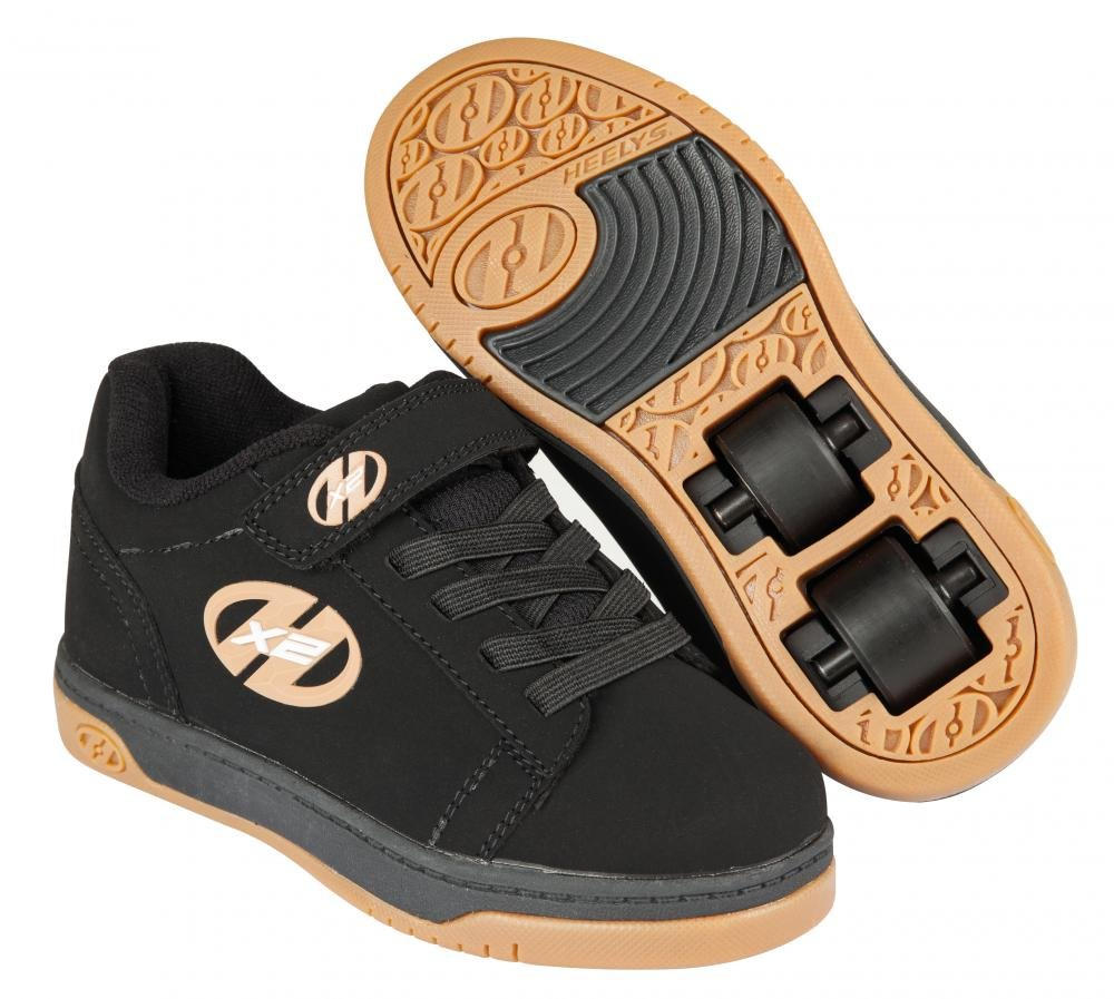Heelys - X2 Dual Up Black/Gum - koloboty