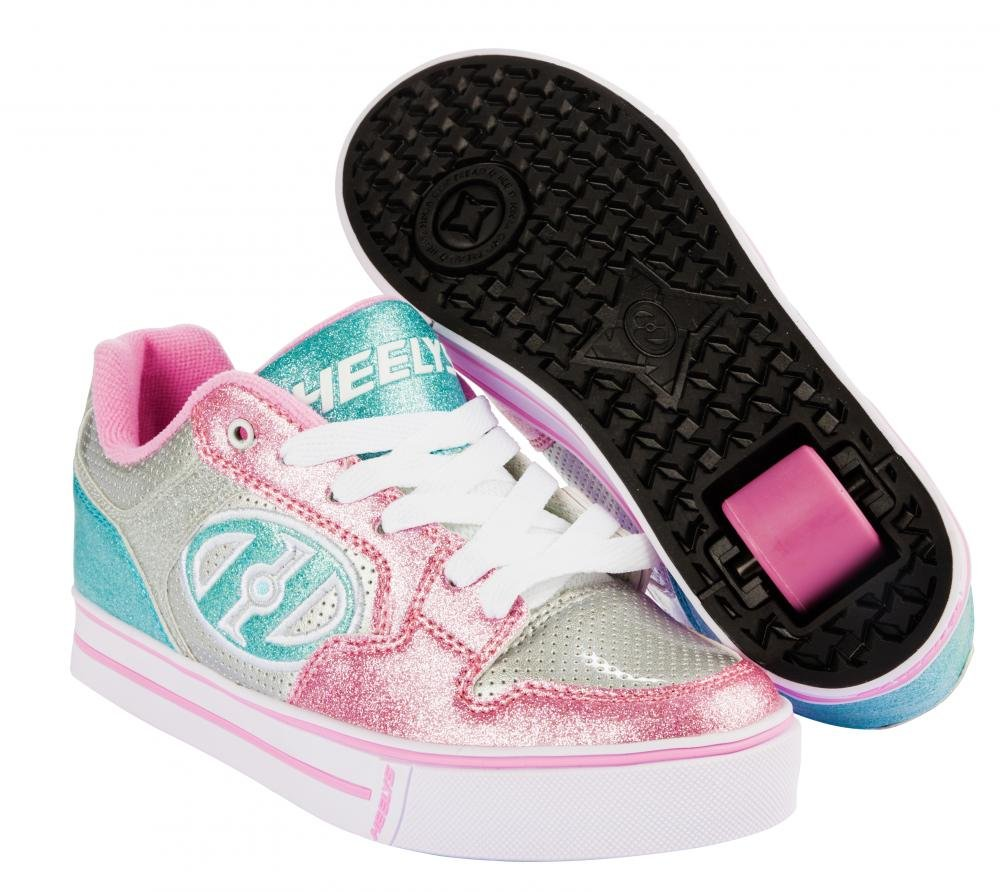 Heelys - Motion Plus Silver/Light Pink - koloboty