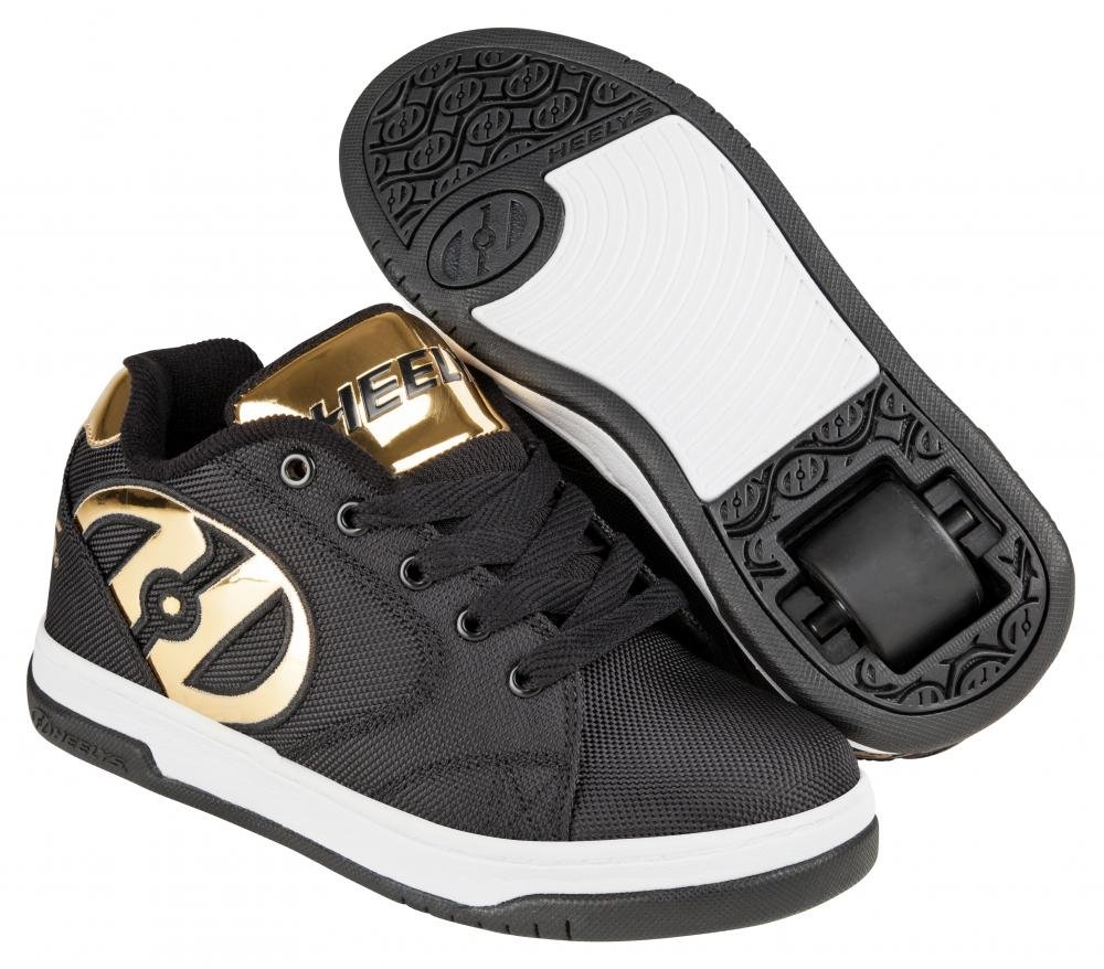 Heelys - Propel 2.0 Black Ballisitic/Gold Chrome - koloboty