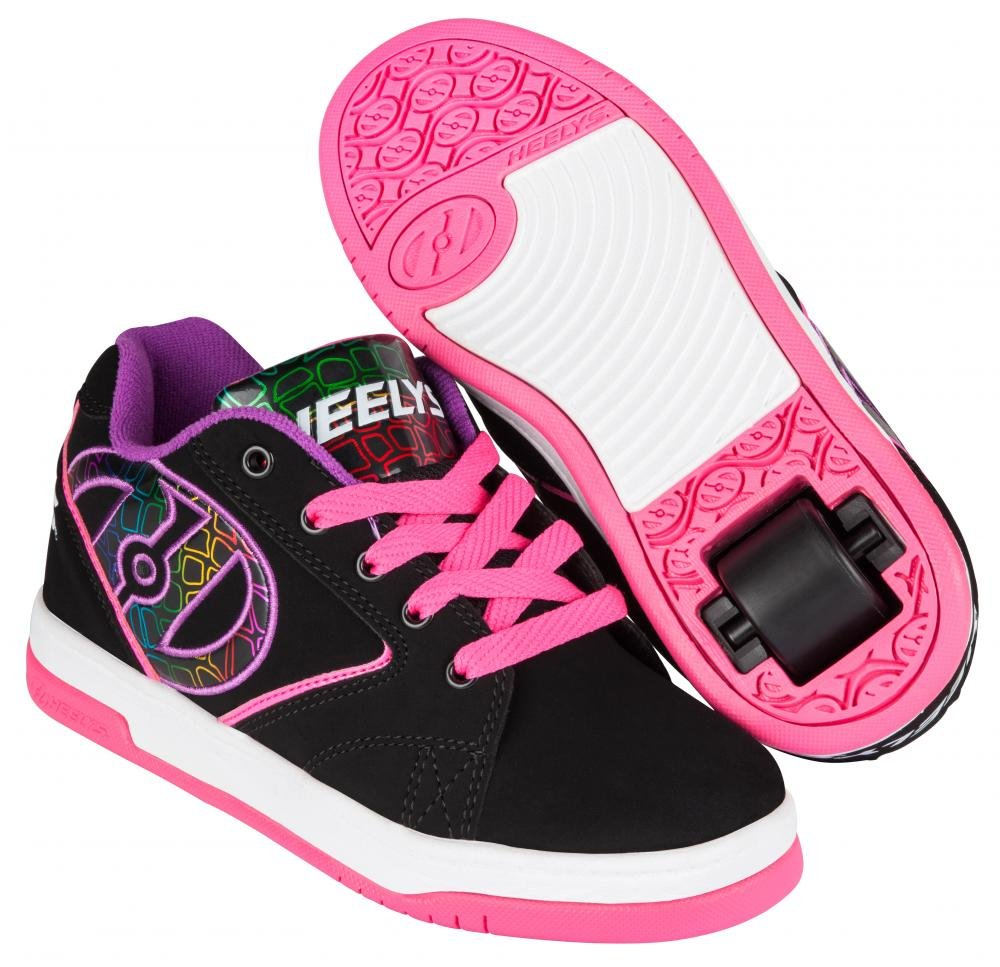 Heelys - Propel 2.0 Black/Pink/Purple - koloboty