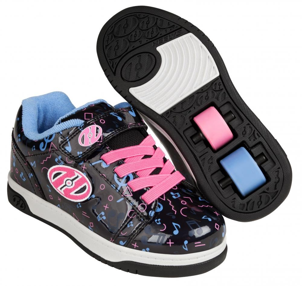 Heelys - X2 Dual Up Black Hologram/Pink/Purple - koloboty