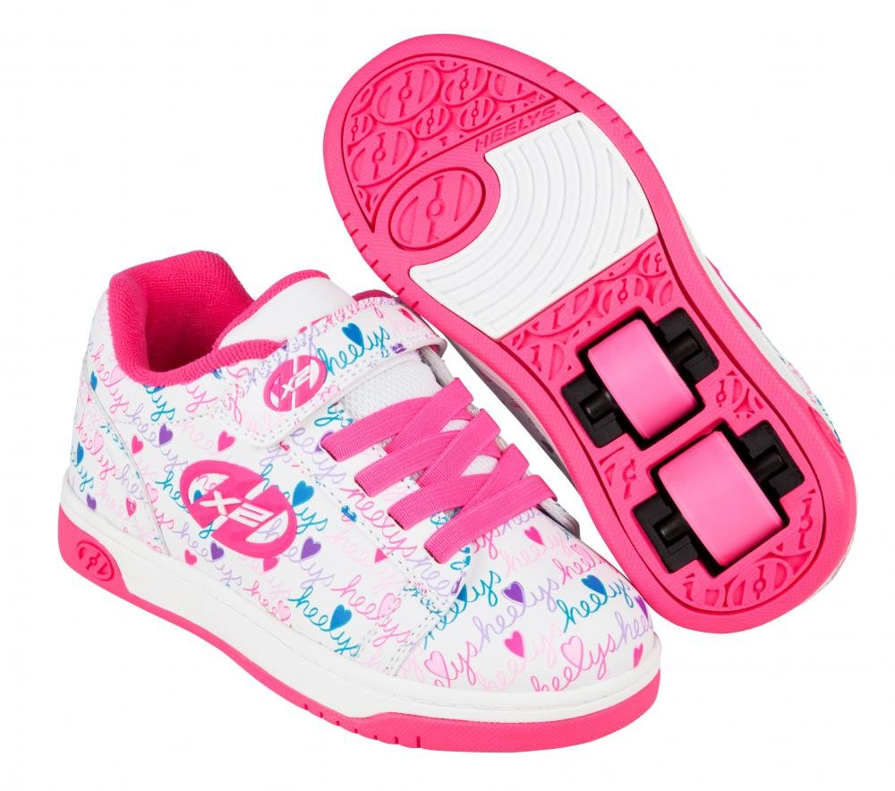 Heelys - X2 Dual Up White/Pink/Multi - koloboty