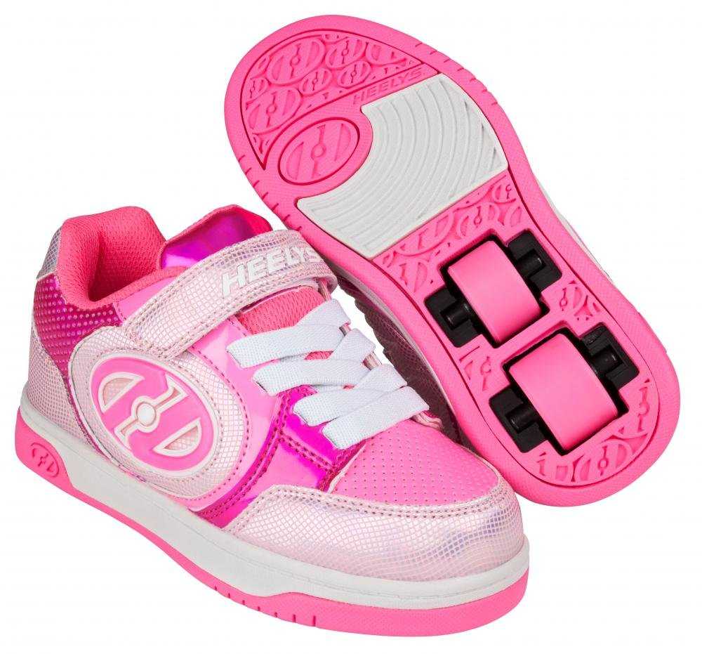 Heelys - X2 Plus Lighted Fuchsia/Hologram - koloboty