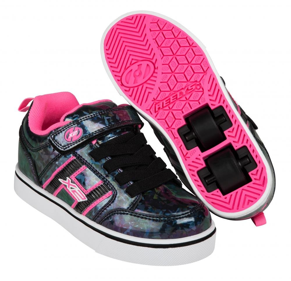 Heelys - X2 Bolt Plus Black Hologram/Pink - koloboty