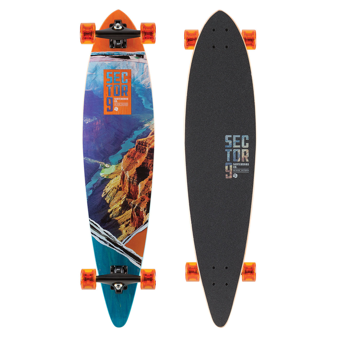 Longboard Sector 9 Vista Ledger 40""