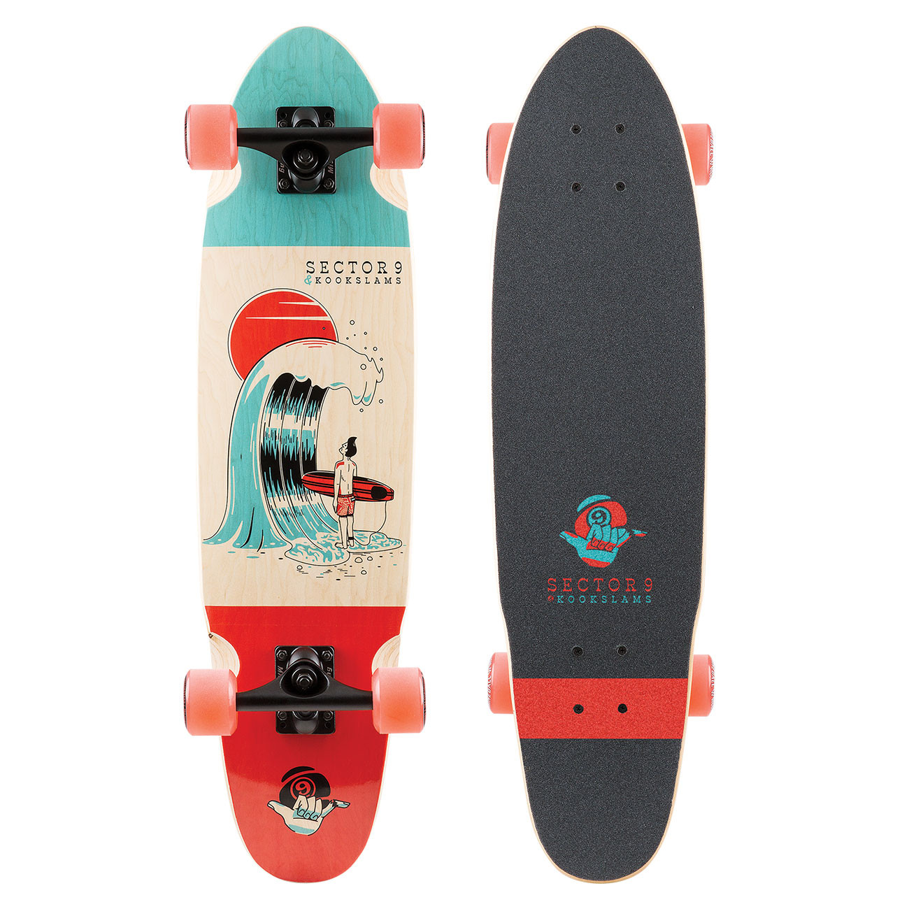 Longboard Sector 9 #outthere 31.5""
