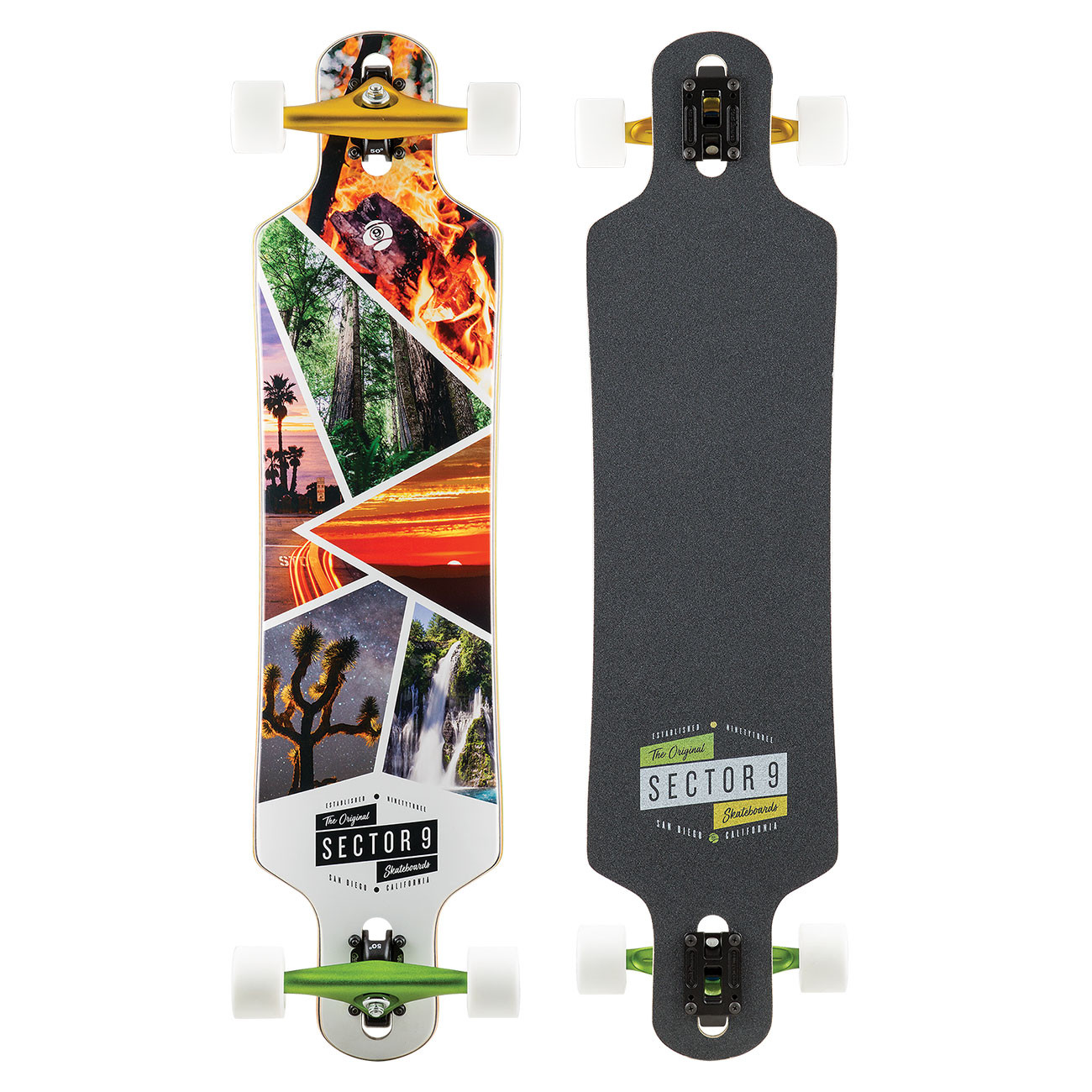 Longboard Sector 9 Timber Bintang 38""