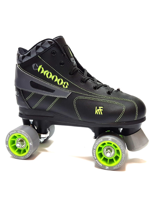 KRF NEW Hockey Chronos Grey/Green Roller Skate