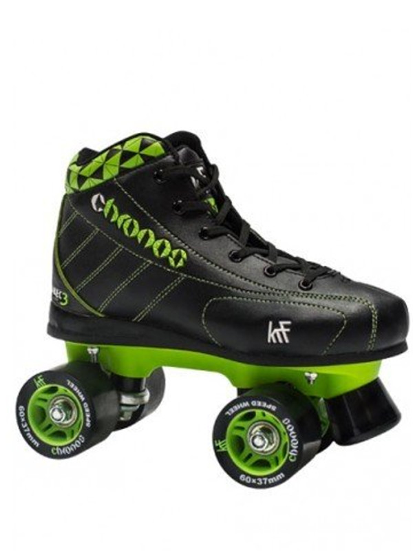 KRF Hockey Chronos Grey/Green Roller Skate (COPIA)